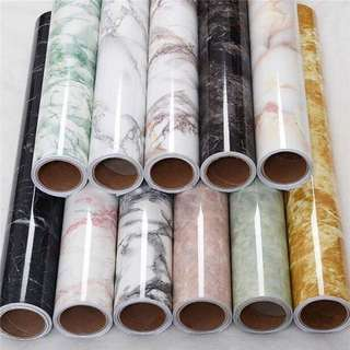 Marble wallpaper water proof self adhiseve 10mx45cm per rolls