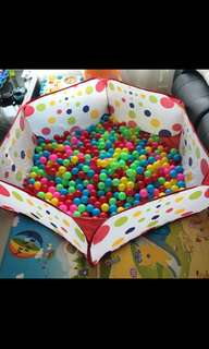 500 Ball Pit Plastic Balls for Babies and Kids