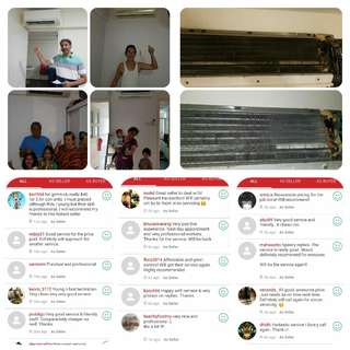 aircon service (cheap&good and satisfied customer)
