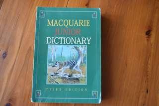 MACQUARIE JUNIOR DICTIONARY