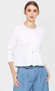 Blair Long Sleeved Top in White
