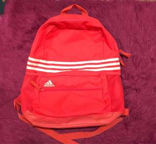 Original Neon Pink Adidas backpack (limited edition)