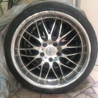 """BMW E90/91/92 3 series 19"""" RIM (ORIGINAL) DOTZ MUGELLO"""