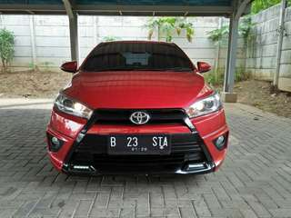 Yaris TRD Sportivo,  At 2014/2015 Merah