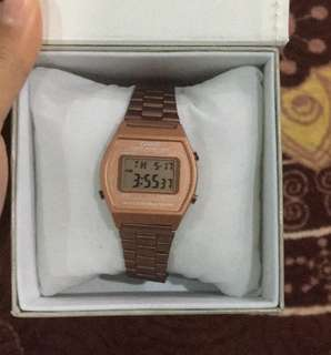 Casio rosegold women watch rm 60 free postage