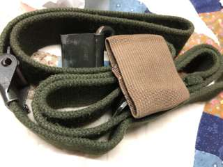 Canvas rifle sling