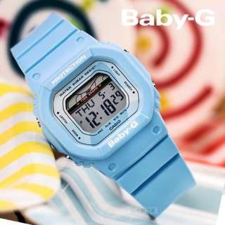Authentic Brand New Casio Baby-G G-LIDE BLX-560-2 Retro Blue Ladies Sports Watch BLX560 BLX-560 BLX-560-2A BLX560-2 BLX560-2A BLX-560-2DR