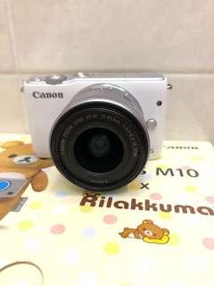 (PRE-LOVED) CANON EOS M10 X Rilakkuma