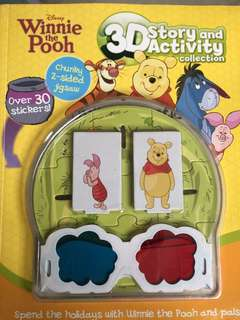 Disney Winnie The Pooh - 3D story n activities collection
