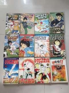Komik 5000/buku captain tsubasa golden age
