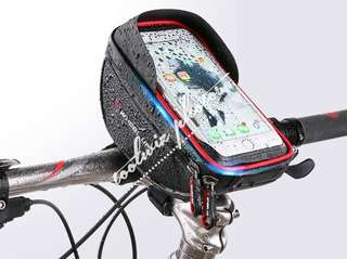 Wheel Up waterproof handlebar pouch for bicycle/e-scooter