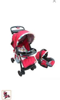TAKE ALL Apruva Stroller + Carrier + Crib/Playpen