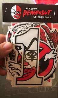 Penghasut Sticker (15 pieces)