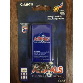 Canon Azkals Philippines football soccer calculator KC-30 BNEW