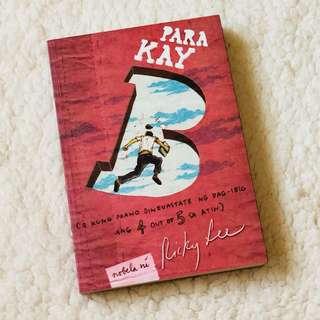 Para Kay B (o kung paano dinevastate ng pag-ibig ang 4 out of 5 sa atin)