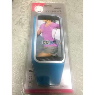 Miniso sports waist belt mobile phone arm band 4.7 inches