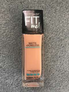 Maybelline matte and poreless foundation 235 pure beige
