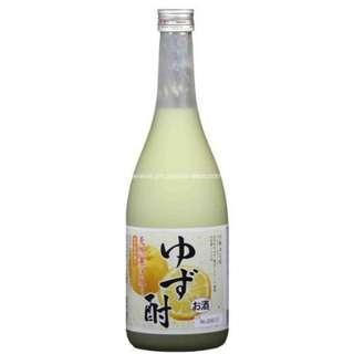 Asahara Shuzo Yuza Chu 麻原天然柚子燒酎 - 720ml
