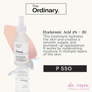 The Ordinary- Hyaluronic Acid