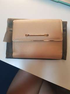 Charles & Keith Nude Wallet