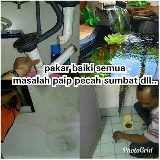 Sri petaling bukit jalil sg besi tukang paip plumber renovation