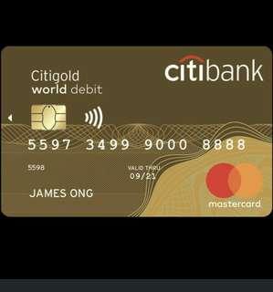 徵收任何作費左既信用卡,要有payWare 功能