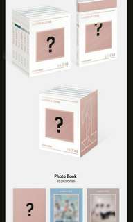 Wanna one 3rd mini album undivided