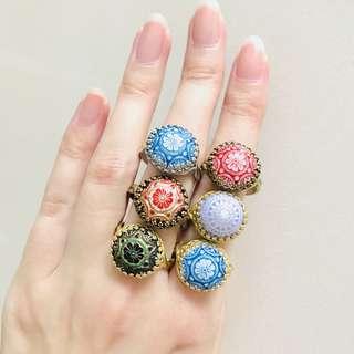 brand new vintage boho rings