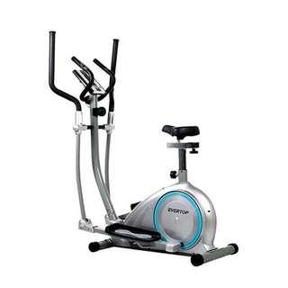 Exercise Fitness Machine Home Gym Elliptical Bike 2 IN 1 Cross Trainer Bike