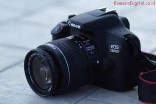 Canon 1300D Bisa Credit Syarat Mudah Proses Hanya 3 Menit