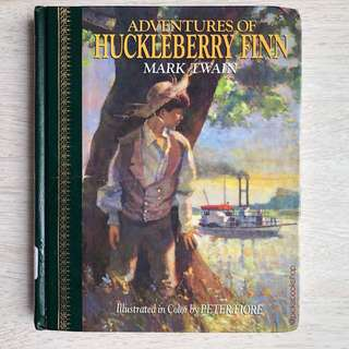 [RARE] The Adventures of Huckleberry Finn - Mark Twain  (Children's Classics)