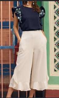 TCL Kyle Ruffles Culotte