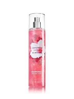 Bath & Body Works Japanese Cherry Blossom DIAMOND Shimmer Mist