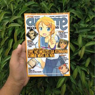 Otakuzine: Anime Recommendations Vol. 1 Issue No. 9