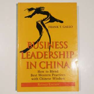 Business Leadership in China: