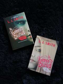 The Vampire Diaries Series by L.J. Smith
