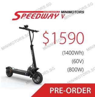 Speedway V escooter