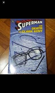 DC Comics - Death of Clark Kent