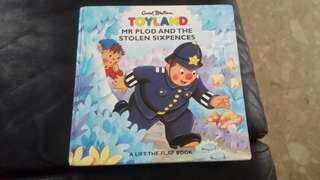 Toyland- by Erid BLyton- Mr plod and the stolen sixpences (pop up book)