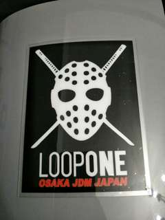 Loopone car decals