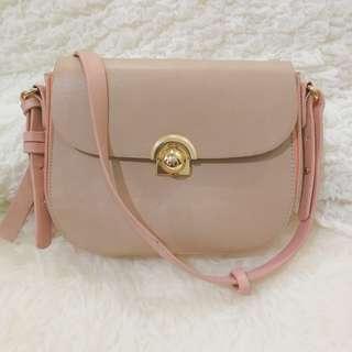 Pale Pink Sling Bag