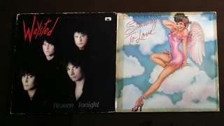WAYSTED ● WONDER BAND . heaven tonight / stairway to love (stairway to heaven)(buy 1 get 1 free / moving out clearance ) vinyl record