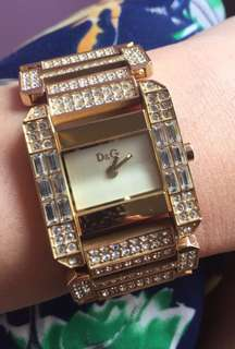 REPRICED!! Authentic D&G watch