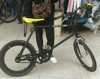 Mini fixie bicycle