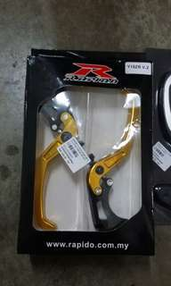 Y15ZR Brake & Clutch Lever V.2 Gold