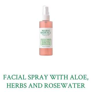 (Big) Mario Badescu Facial Spray with Aloe, Herbs and Rosewater