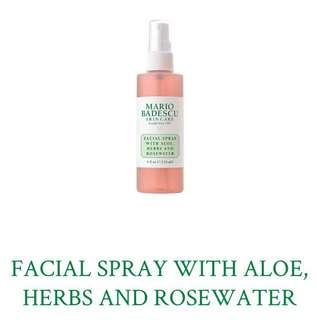 (Big) Mario Badescu Facial Spray with Aloe, Herbs and Rosewater