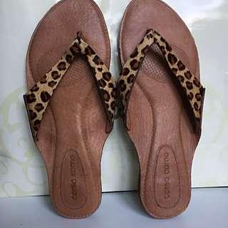 Corso Como Pure Leather Slippers