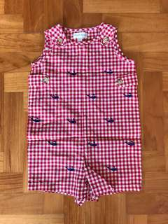 Authentic Ralph Lauren Shortalls 6M