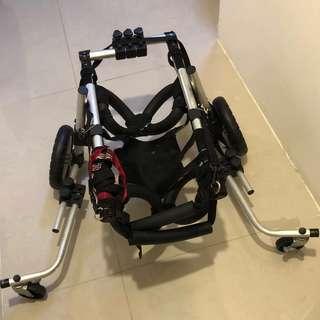 💋(二手品)大型犬用四輪輔助輪椅